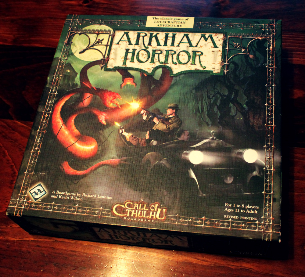 review  arkham horror