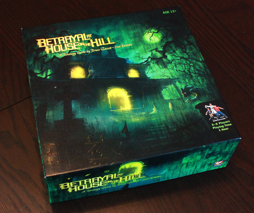 Haunted House Browser Game: Wait, Where Was That Betrayal At Again? (Betrayal At House