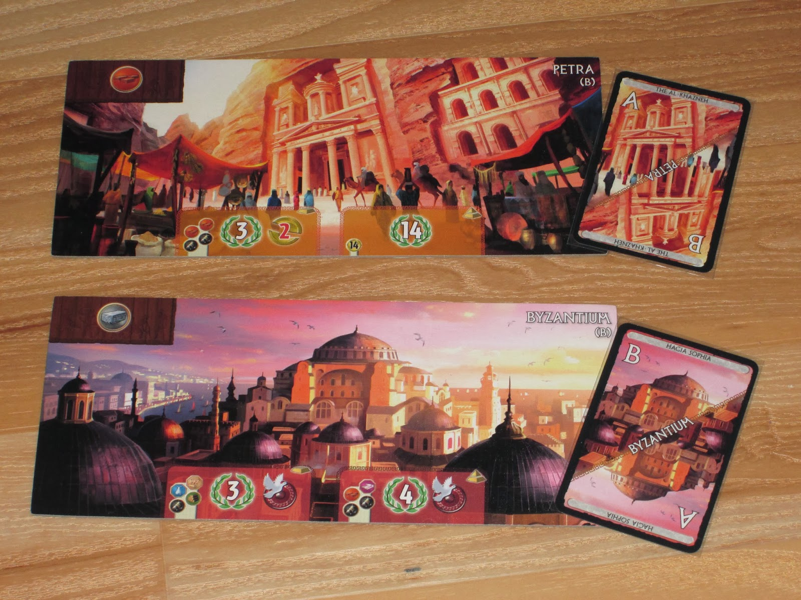 Review: 7 Wonders: Cities